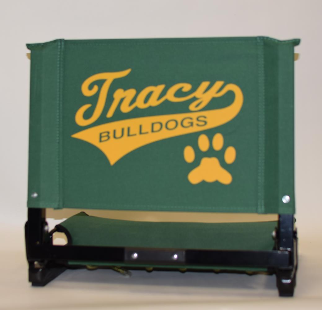 Tracy Bulldogs Stadium Chair-01
