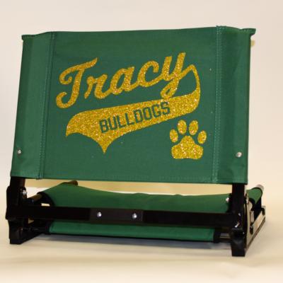 Tracy Bulldogs Stadium Chair-03